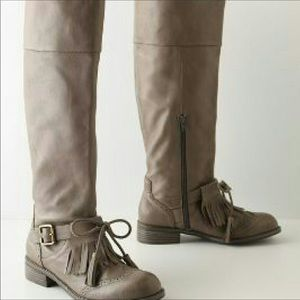 Anthropologie Lucky Penny Dawn Boots